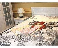 Плед микрофибра-панно Winx Fairy Флора 150х200 см