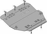 Металлическая (стальная) защита двигателя (картера) Fiat Ulysse II (2002-2010) (V-1,8 D; 2.0 Hdi 109 FAD), фото 2