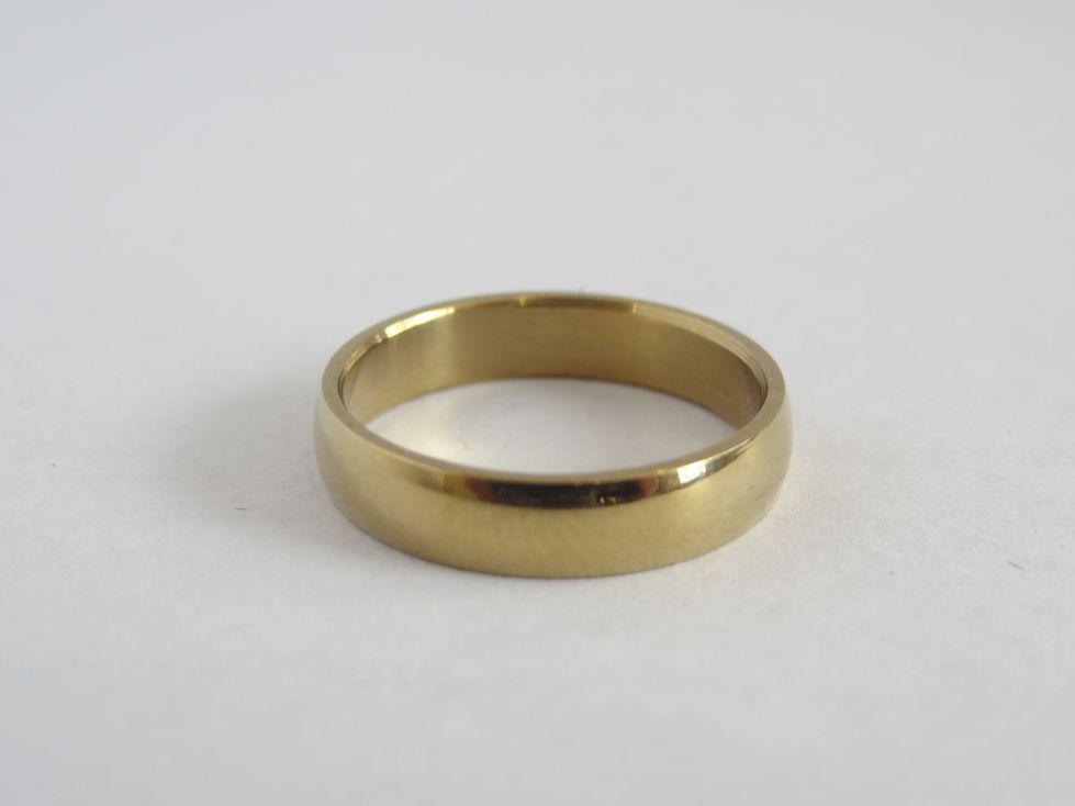 Мужское обручальное кольцо из медицинской стали 143084