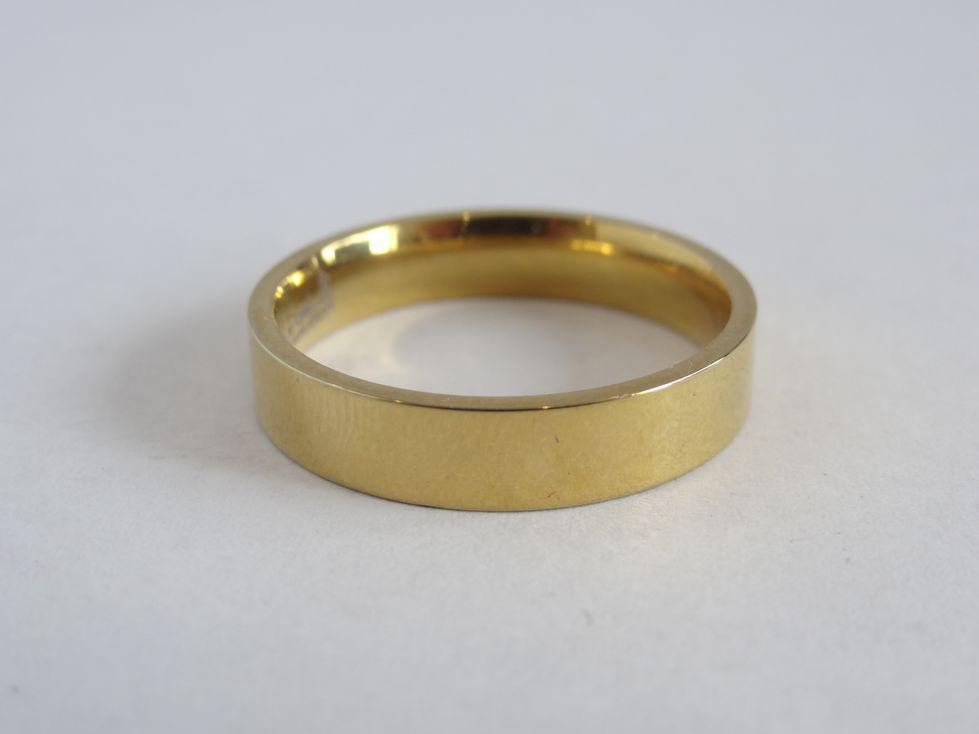 Мужское обручальное кольцо из медицинской стали 143089