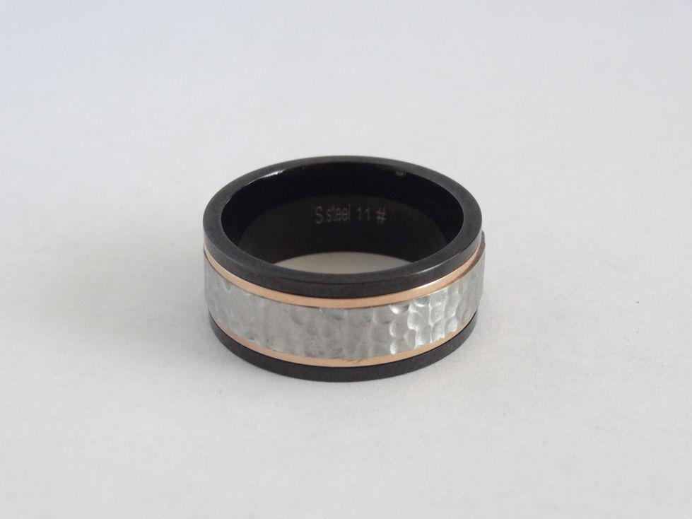 Мужское кольцо из медицинской стали 143123