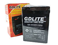 Аккумулятор BATTERY GD 640 6V 4A, Аккумуляторная батарея, Универсальный аккумулятор, Батарея общего назначения