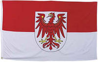 Флаг земли Бранденбург 90х150см MFH 35105D