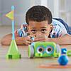 Игровой STEM-набор LEARNING RESOURCES – РОБОТ BOTLEY программируемая игрушка-робот пульт аксесс. LER2935, фото 5