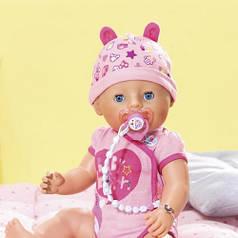 Кукла BABY BORN серии Нежные объятия - ОЧАРОВАТЕЛЬНАЯ МАЛЫШКА 43 см с аксессуарами Zapf 824368