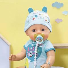 Кукла BABY BORN серии Нежные объятия - ОЧАРОВАТЕЛЬНЫЙ МАЛЫШ 43 см с аксессуарами Zapf 824375