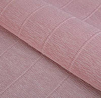 Бумага гофрированная розовая пудра 17А3 Италия