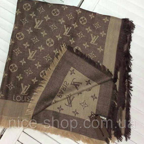 710052ebc37d Платок Louis Vuitton коричнево-бежевый комби  продажа, цена в Одессе ...
