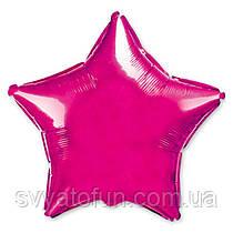 """Фольгированный шар звезда фукция 18"""" 301500F Flexmetal"""