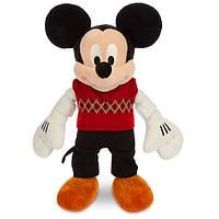 Микки Маус в свитере средний 38см, фото 1