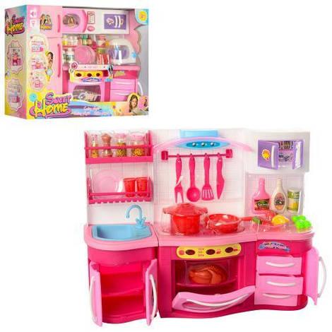 Мебель 2801LN-2803LN (24шт) SL, кухня37-27-10см,посуда,продук,зв,св, 2в,на бат,в кор-ке,37-29-11,5с
