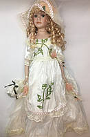 Фарфоровая кукла, сувенирная, коллекционная, 50 см 03