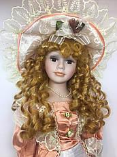Фарфоровая кукла сувенирная, коллекционная, 45 см 08, фото 3