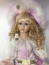 Сувенирная фарфоровая кукла, коллекционная, 50 см 03-05, фото 3