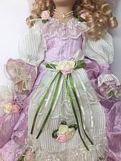 Сувенирная фарфоровая кукла, коллекционная, 50 см 03-05, фото 2