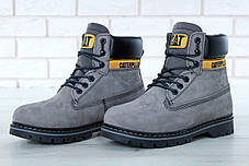 Мужские зимние ботинки Caterpillar Colorado Fur Grey, мужские ботинки. ТОП Реплика ААА класса., фото 3