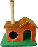 Когтеточка домик  Фазенда для кота