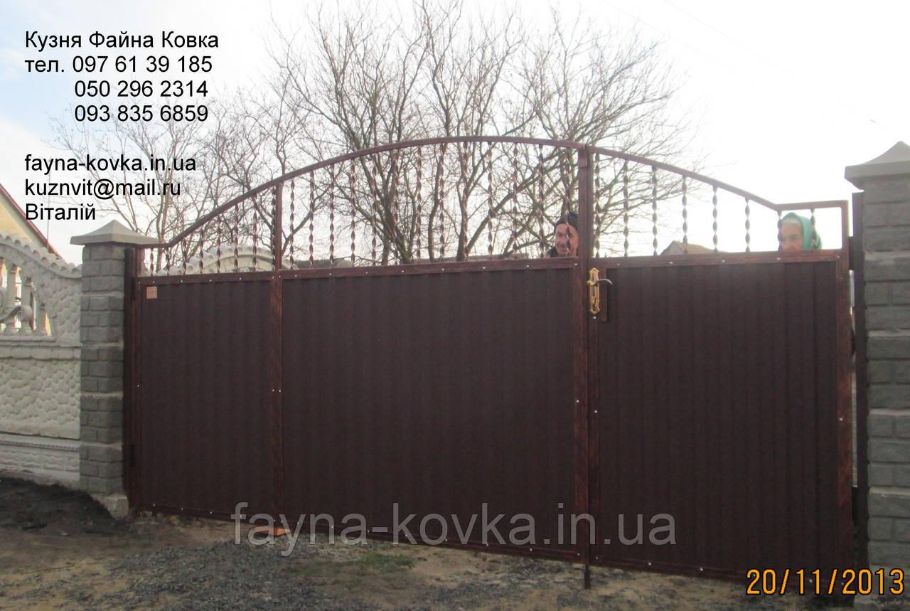 Ворота з каліткою 4950