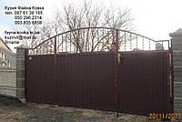 Ворота з калиткой всередине 4950