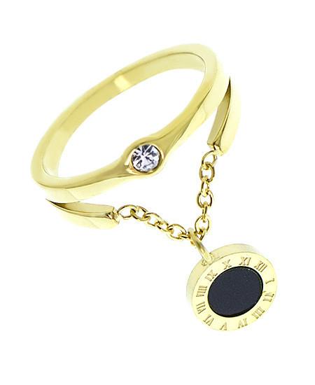Кольцо женское из стали 143716