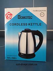 Электрический чайник из нержавеющей стали  Domotec MS 5001