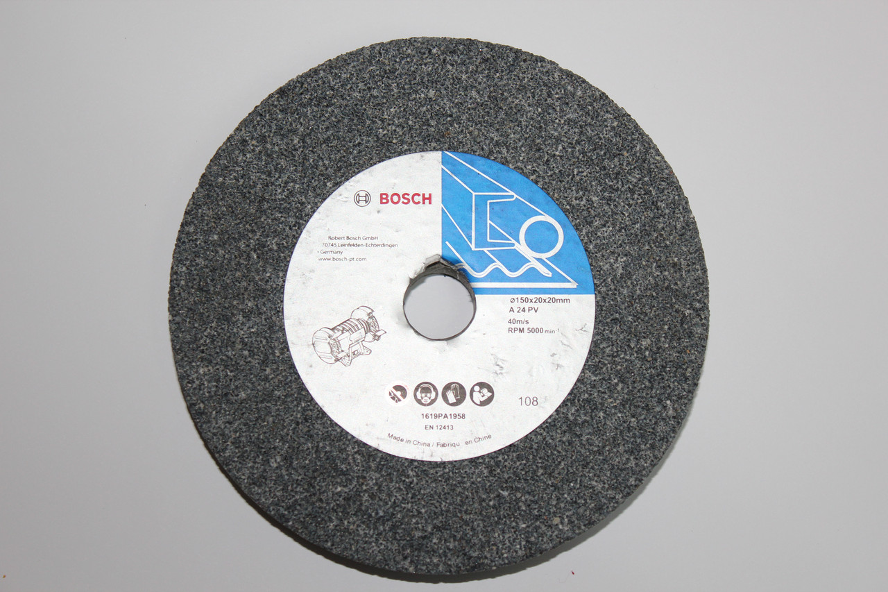 Шліфувальний круг 150х20х20 мм зерн. 24 BOSCH