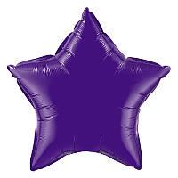 """Фольгированный шар звезда фиолетовый 18"""" 301500V Flexmetal"""