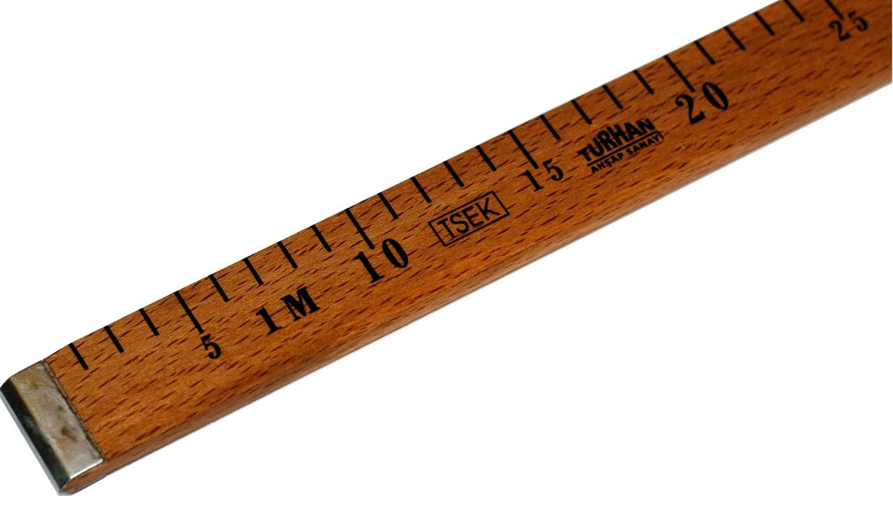 Метры швейные ТУРЦИЯ (100см) деревянные