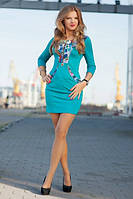 Платье из турецкого дайвинга