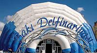 Пневмокаркасный дельфинарий, ПКС, дельфинарий, БМЗ, мобильный дельфинарий, здание для дельфинария