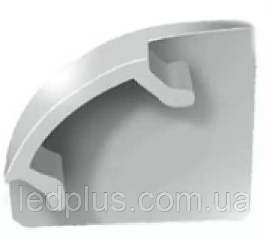 Заглушка для профиля ЛПУ17 пластмассовая