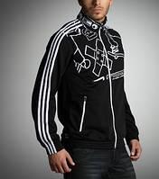 Толстовка спортивная мужская adidas P93793 Bnce T-Top адидас