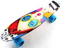 """Пенни борд, скейтборд, Penny Board """"Cool Girl"""""""