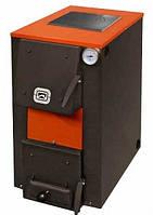 Котел твердотопливный Теплодар Куппер ОВК 18 + 6 кВт Тэн + варочная поверхность