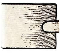 Портмоне мужской из кожи Ящерицы 12х10 см 6403. LIZ 96 Natural, фото 1