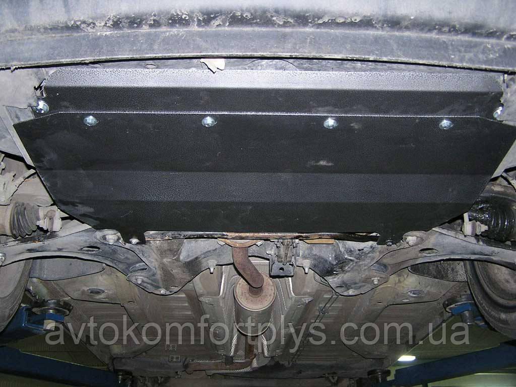 Металлическая (стальная) защита двигателя (картера) Citroen С3 (2002-2009-) (V-1,1; 1,4; 1,6; 1,4D; 1,6D;)
