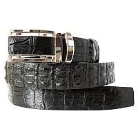 Ремень из кожи Крокодила 125х3,8 см 145043