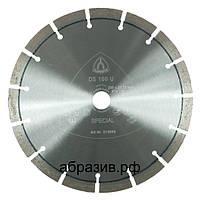 Алмазный отрезной круг Klingspor DS 100 U 230мм