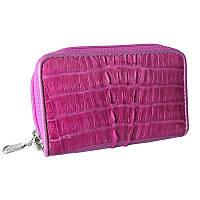 Ключниця-гаманець зі шкіри Крокодила 10,5х6,5 см 145068