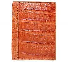 Обкладинка для прав з шкіри Крокодила 8х10 см 145071