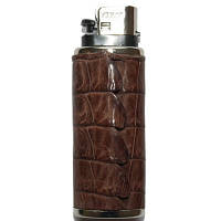 Футляр для запальнички шкіра Крокодила 3х7 см 145075, фото 1