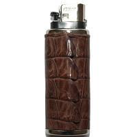 Футляр для запальнички шкіра Крокодила 3х7 см 145075