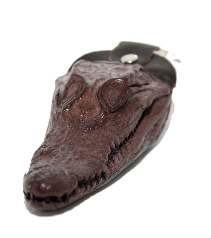Брелок из кожи Крокодила 15х5,5 см 145080
