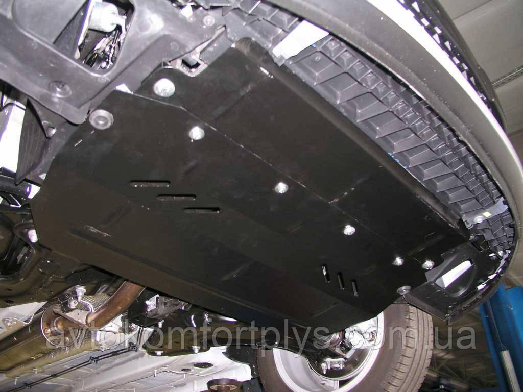 Металлическая (стальная) защита двигателя (картера) Citroen DS3 (2010-) (V-1,6)