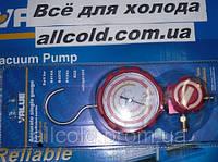 Манометр. коллектор одновентильный  VALUE  VMG -1-U-H Type3  (R 404,407,22,134)   красный