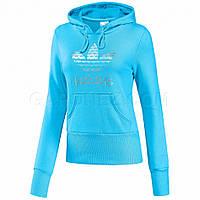 Толстовка спортивная, женская Adidas Originals Trefoil Hood W E16473 адидас