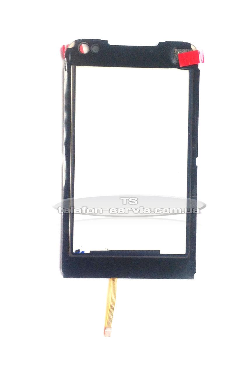 Сенсорний екран для Samsung I900, чорний