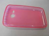 Чехол-накладка Силикон S Lenovo A300T розовый
