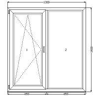 Окно WDS (400), недорого в  Днепропетровске, фото 1
