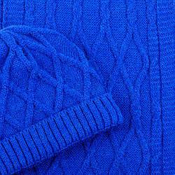 Набор (шапка, шарф) SVTR 1 Синий (2-й комплект)